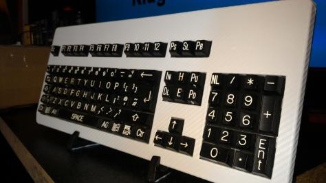 Carbon fibre keyboard