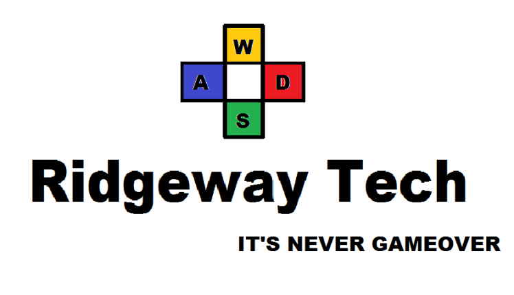 RidgewayTech Logo in paint